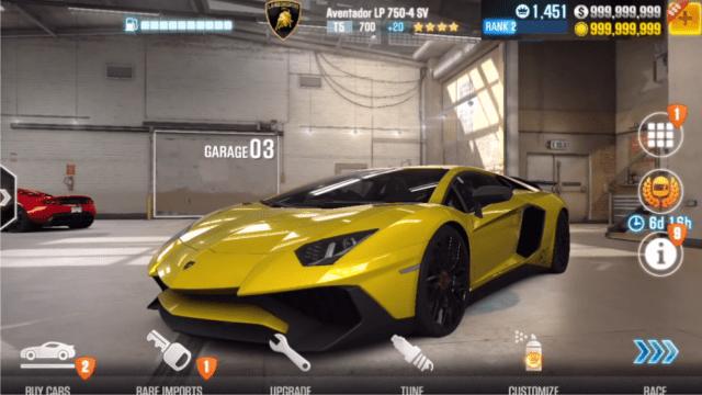 تحميل لعبة CSR Racing 2 Mod APK للاندرويد مجانا