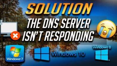 """أفضل 8 طرق لإصلاح """"خادم DNS لا يستجيب"""" في نظام التشغيل Windows 10"""