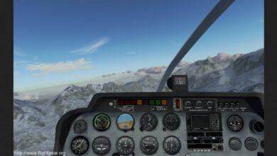 تحميل لعبة محاكاة الطيران FlightGear كاملة للكمبيوتر 2021