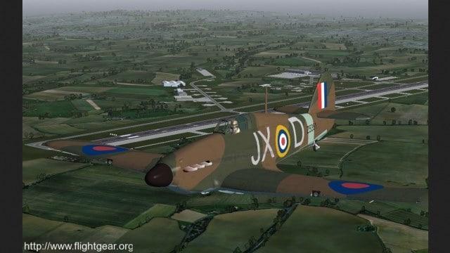 تحميل لعبة محاكاة الطيران FlightGear كاملة للكمبيوتر