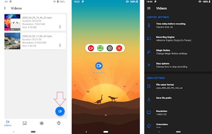 افضل 5 تطبيقات لتصوير شاشة الهاتف فيديو مجانا