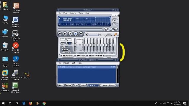 تحميل برنامج winamp مشغل الصوت للكمبيوتر