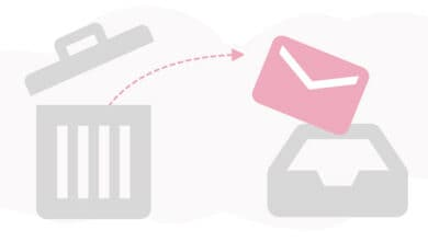 4 طرق لاستعادة الرسائل المحذوفة من الايميل