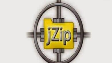 تحميل برنامج jZip للكمبيوتر برابظ مباشر