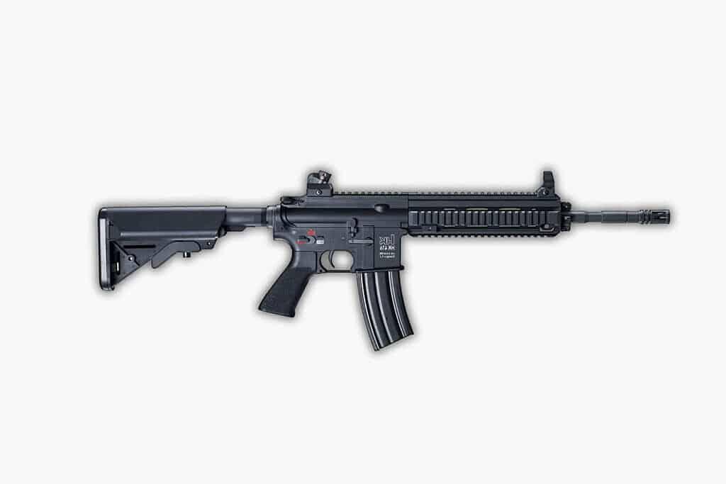 أفضل مسدس في ببجي موبايل: بندقية هجومية M416