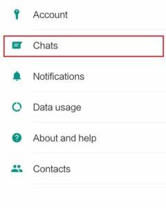 حفظ المحادثات والدردشات على WhatsApp