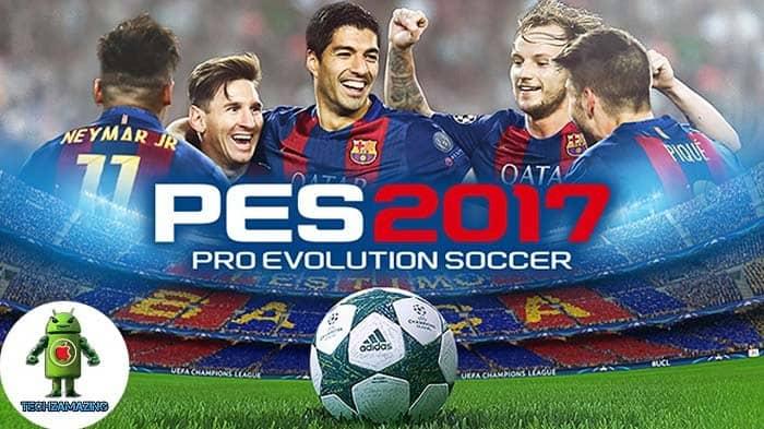 تحميل لعبة بيس PES 2017 كاملة