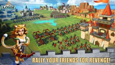 شرح وتحميل لعبة لوردس موبايل Lords Mobile