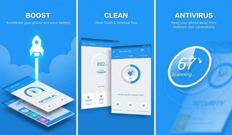 برنامج 360 Security Antivirus