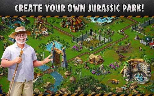 تحميل لعبة Jurassic Park Builder