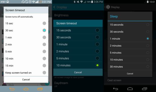 طرق لمنع إيقاف تشغيل شاشة هاتف الاندرويد
