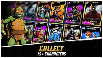 تحميل لعبة سلاحف النينجا Ninja Turtles Legends