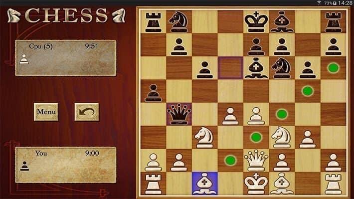 لعبة الاندرويد Chess Free ثنائية اللاعبين