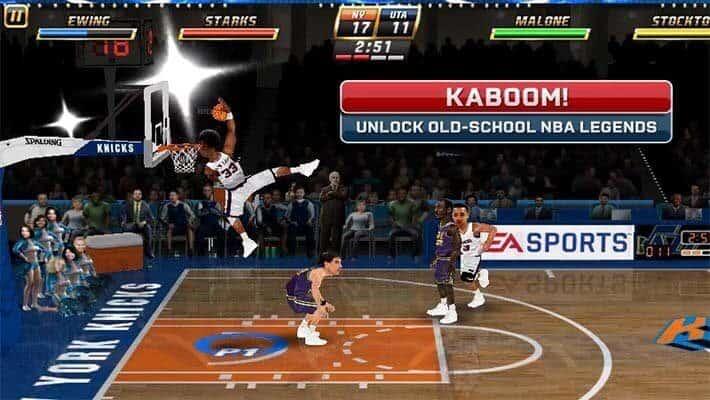 لعبة الاندرويد NBA Jam ثنائية اللاعبين