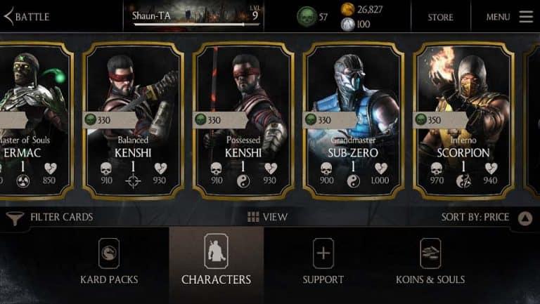 تحميل لعبة مورتال كومبات Mortal Kombat للاندرويد و IOS