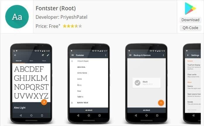 تطبيق Fonster