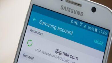 تعرف على كيفية إنشاء حساب Samsung جديد