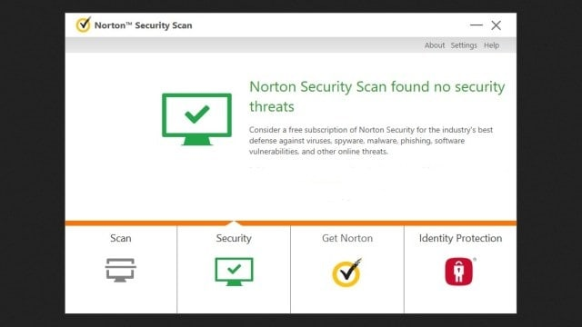 برنامج Norton Security Scan للكمبيوتر
