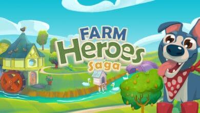 شرح وتحميل لعبة Farm Heroes Saga - بطل المزرعة