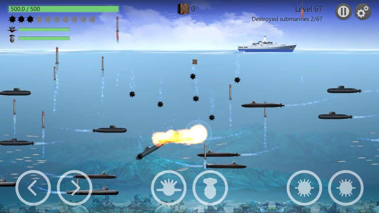 لعبة الاندرويد Sea Battle