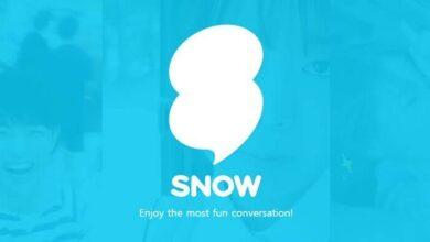تحميل تطبيق Snow مسجل صور السيلفي الخيالي