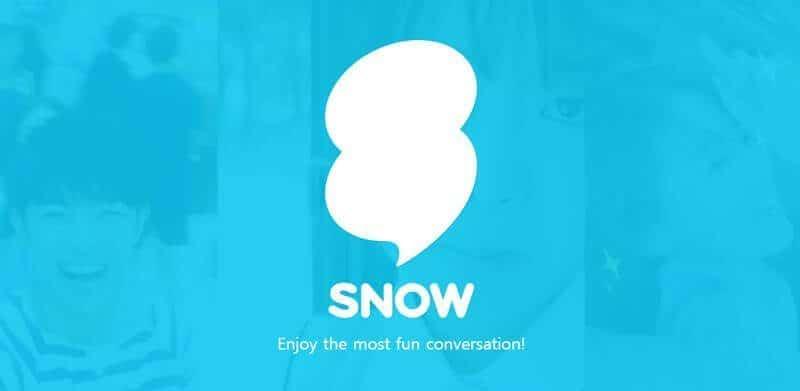 تطبيق Snow