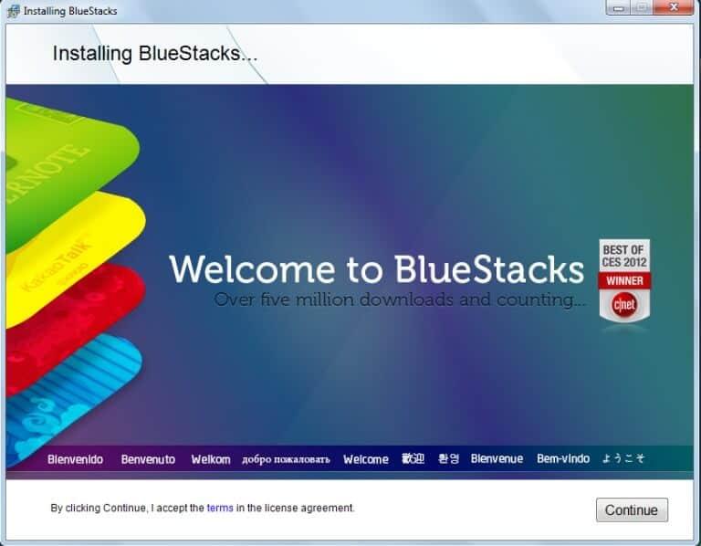 تحميل برنامج bluestacks للكمبيوتر + طريقة التثبت