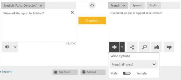 مترجم بينج (Bing Translator)