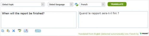 مترجم PROMT Online Translator