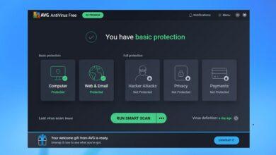 تحميل برنامج AVG AntiVirus FREE للكمبيوتر 2021