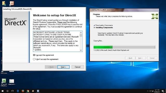 برنامج directx 9