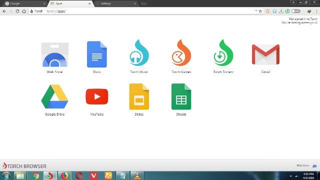 برنامج Torch Browser