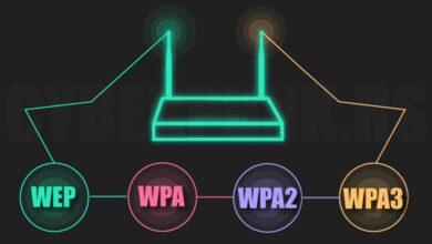 ما الفرق بين بروتوكولات WPA و WPA2 و WPA3؟