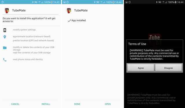 تطبيق TubeMate للاندرويد