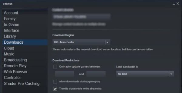 تعرف على كيفية زيادة سرعة التحميل وتنزيل اللعبة على Steam