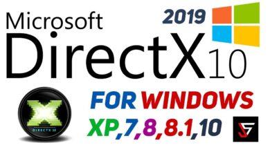 تحميل برنامج DirectX 10 للويندوز كامل