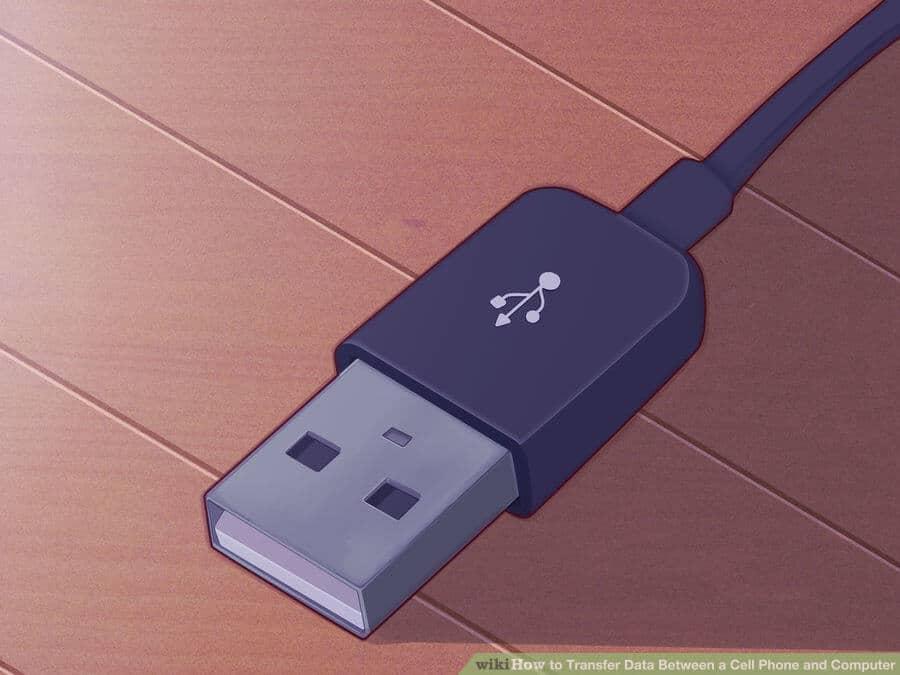 نقل الملفات من الهاتف إلى الكمبيوتر عن طريق usb
