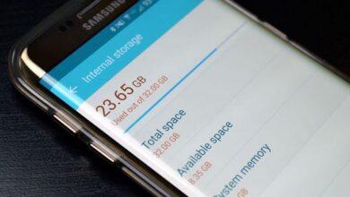 كيفية تفريغ ذاكرة الهاتف لزيادة مساحة التخزين