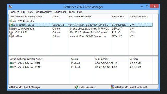 برنامج SoftEther VPN 2021