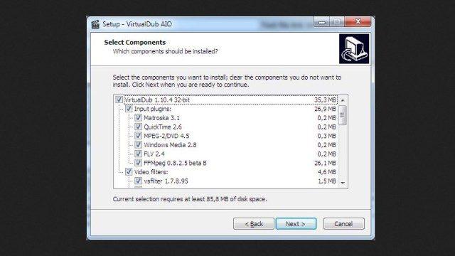 برنامج virtualdub