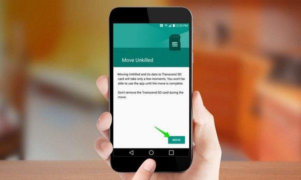 كيفية نقل تطبيقات الاندرويد الى بطاقة الذاكرة
