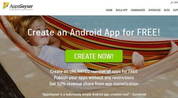 مواقع لعمل تطبيق اندرويد بدون برمجة بكل سهولة